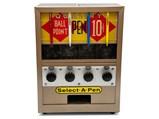 Select-A-Pen 10¢ Ball Point Pen Vending Machine - $