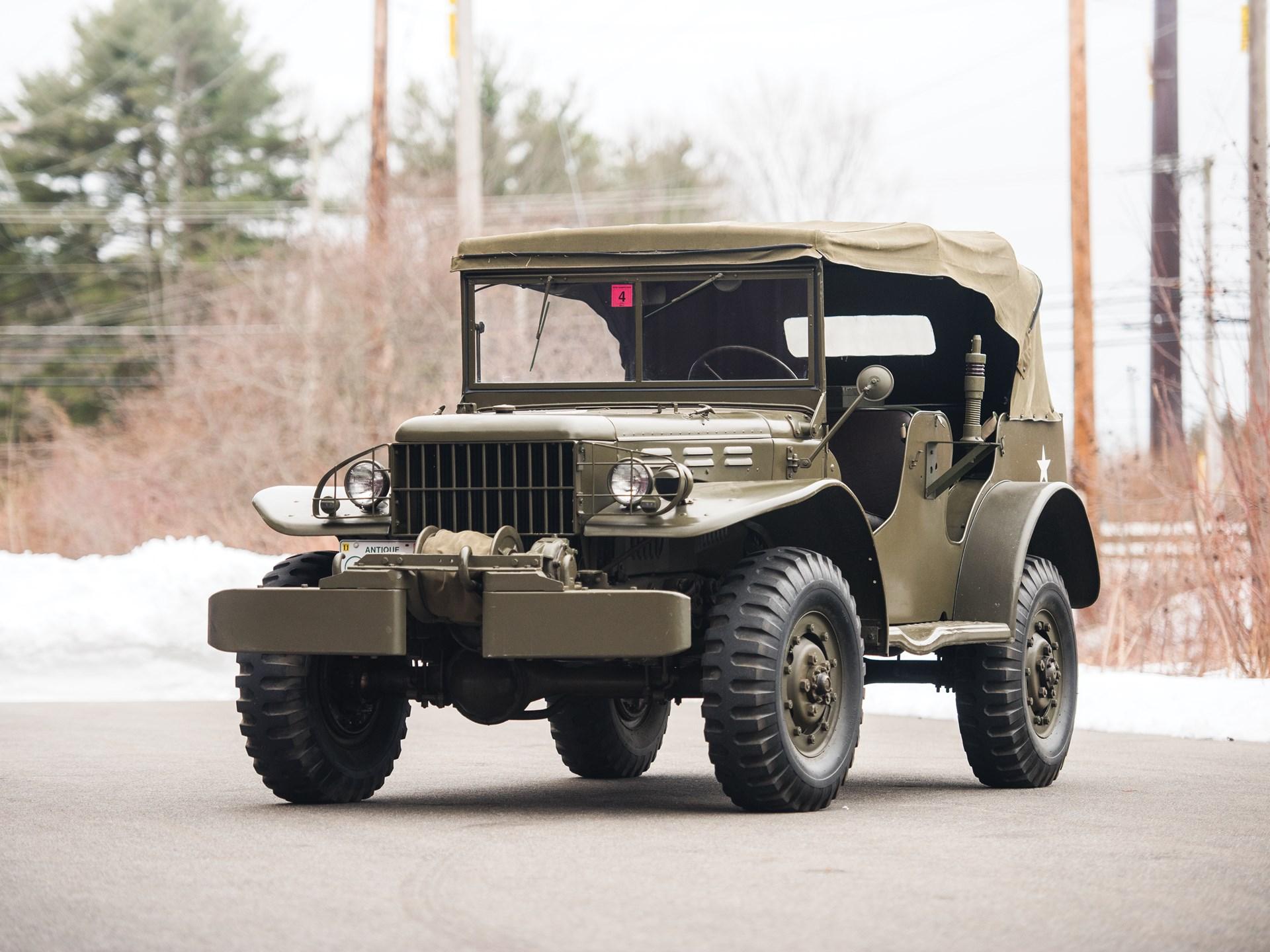 1945 Dodge WC-58 Radio Car