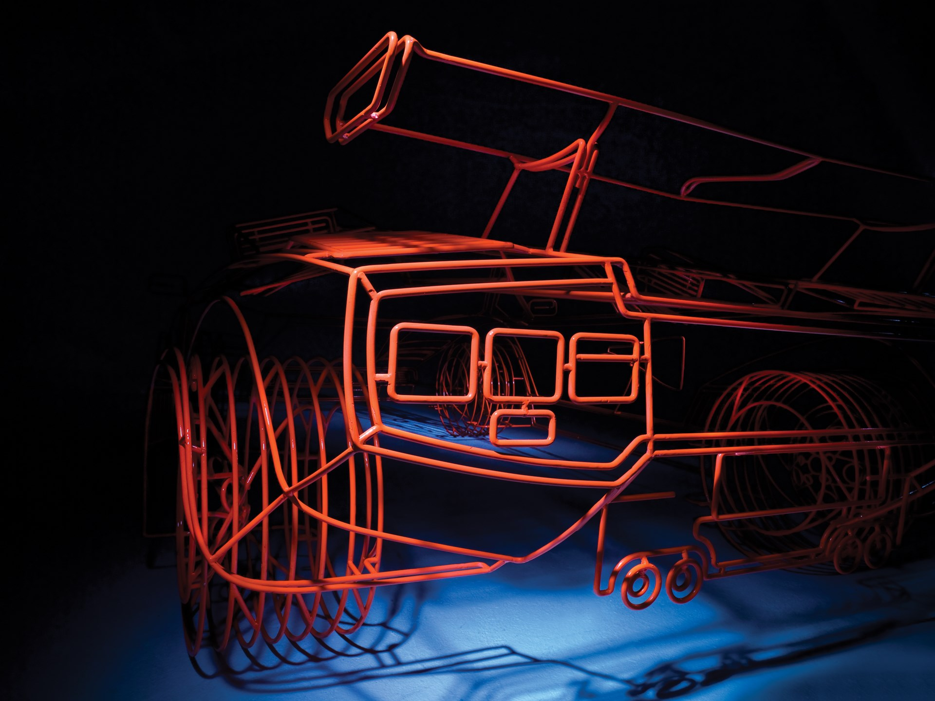 Lamborghini Countach 'Koenig' by Benedict Radcliffe, 2007