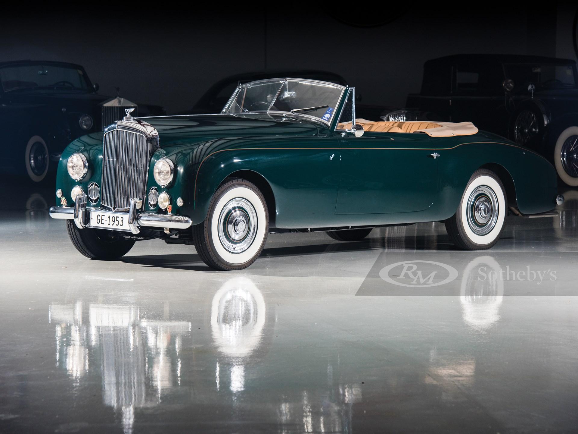1953 Bentley Mark VI Cabriolet Conversion by Graber
