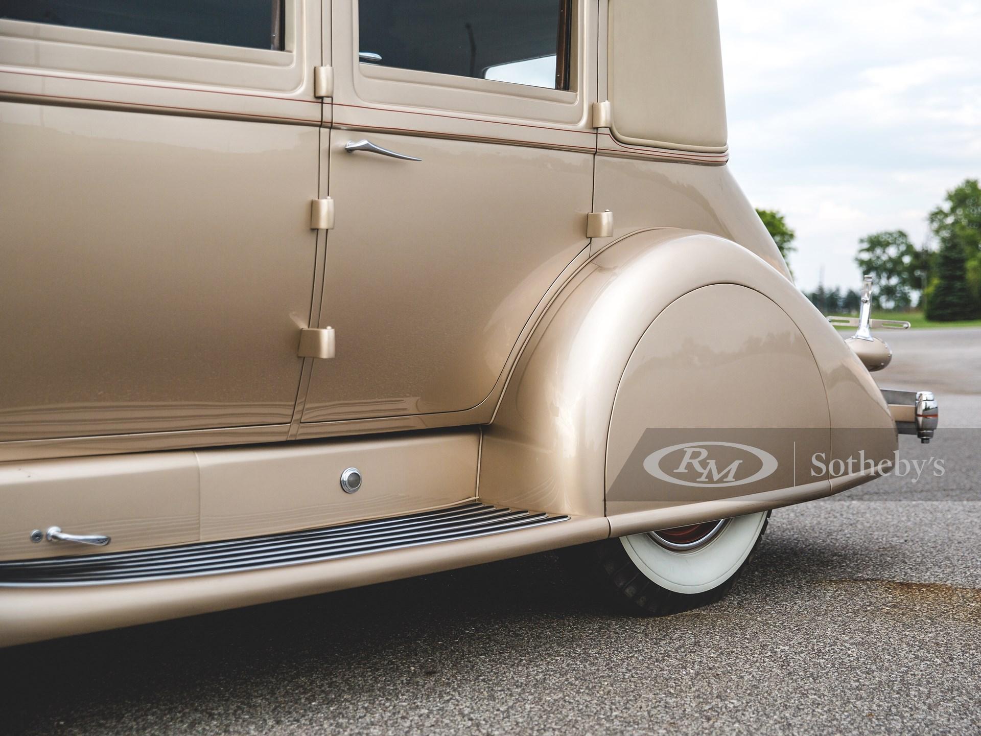1929 Duesenberg Model J Sedan by Derham/Bohman & Schwartz -