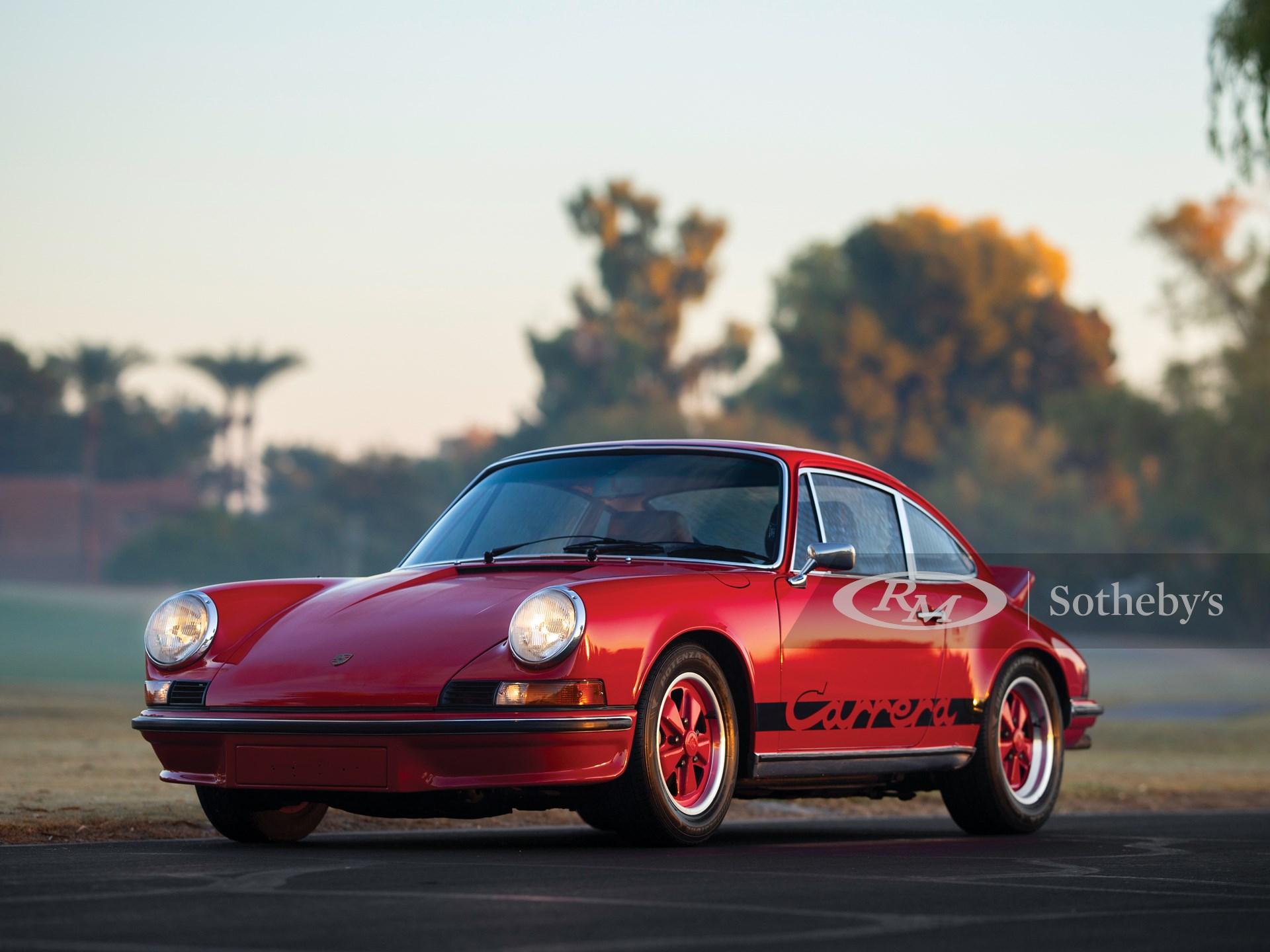 1973 Porsche 911 Carrera Rs 2 7 Touring Arizona 2019 Rm Sotheby S