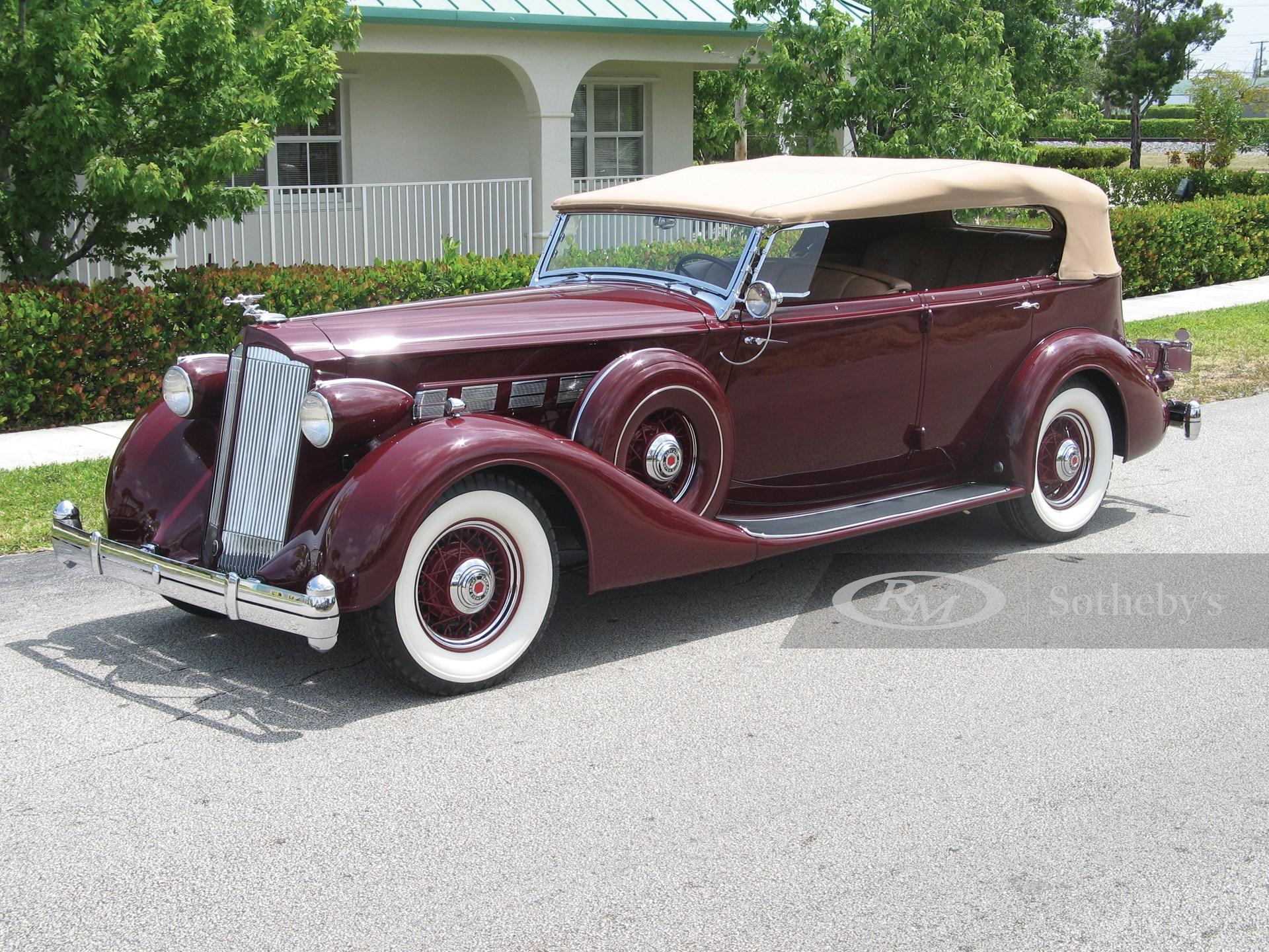 1936 Packard Super Eight Five-Passenger Phaeton