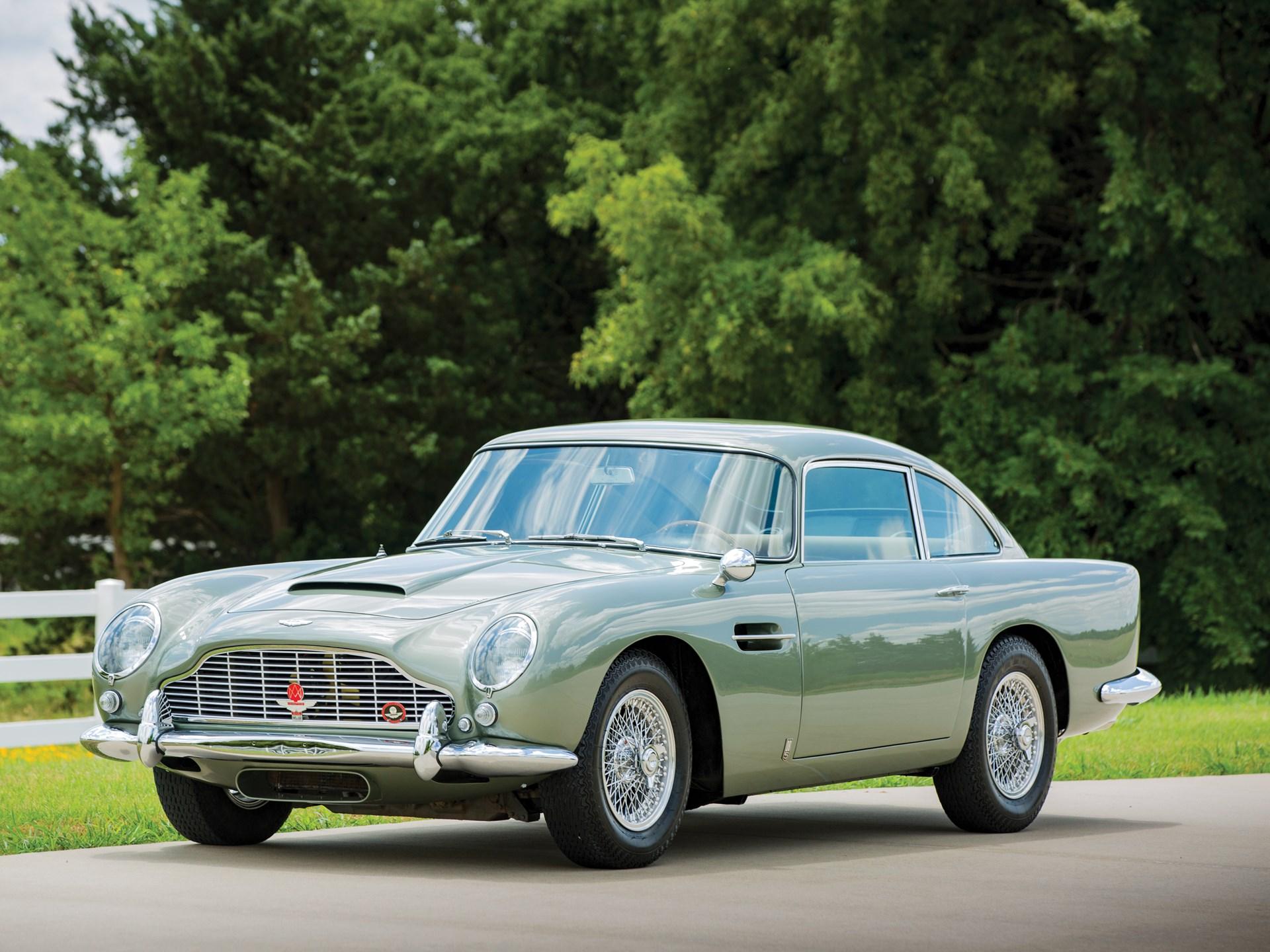 RM Sothebys Aston Martin DB Monterey - Aston martin db5