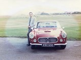 1960 Maserati 3500 GT by Touring - $Chassis no. AM101 954 with its current custodian in the 1970's.