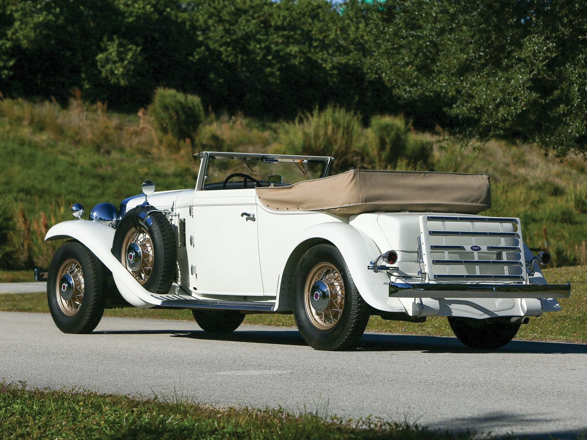 1932 Stutz DV-32 Convertible Victoria by Rollston