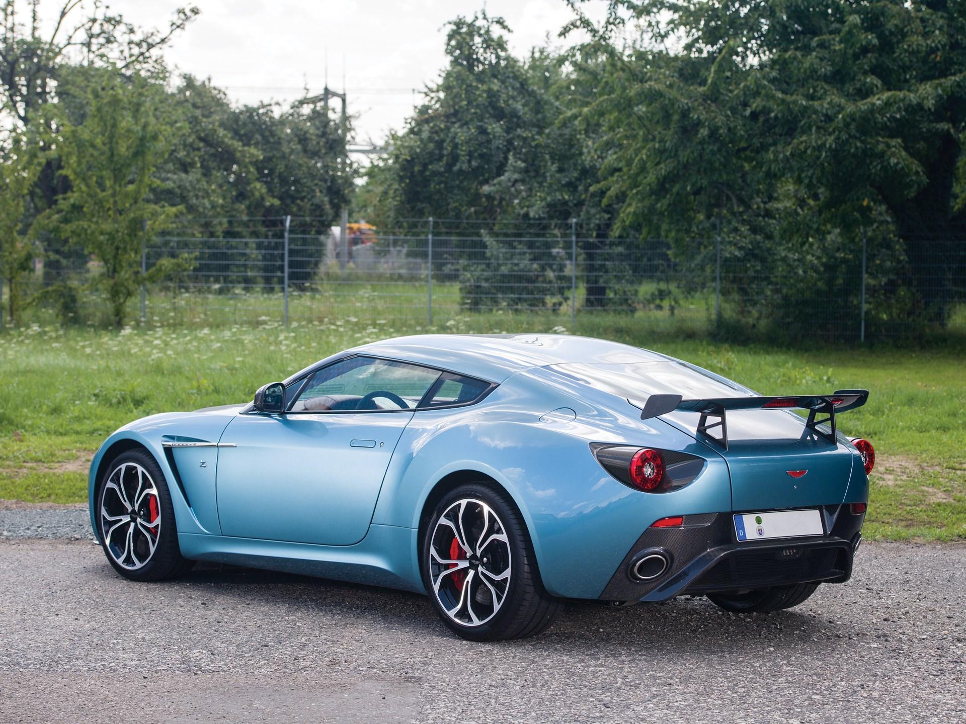 RM Sothebys Aston Martin V Zagato London - Aston martin v12 zagato