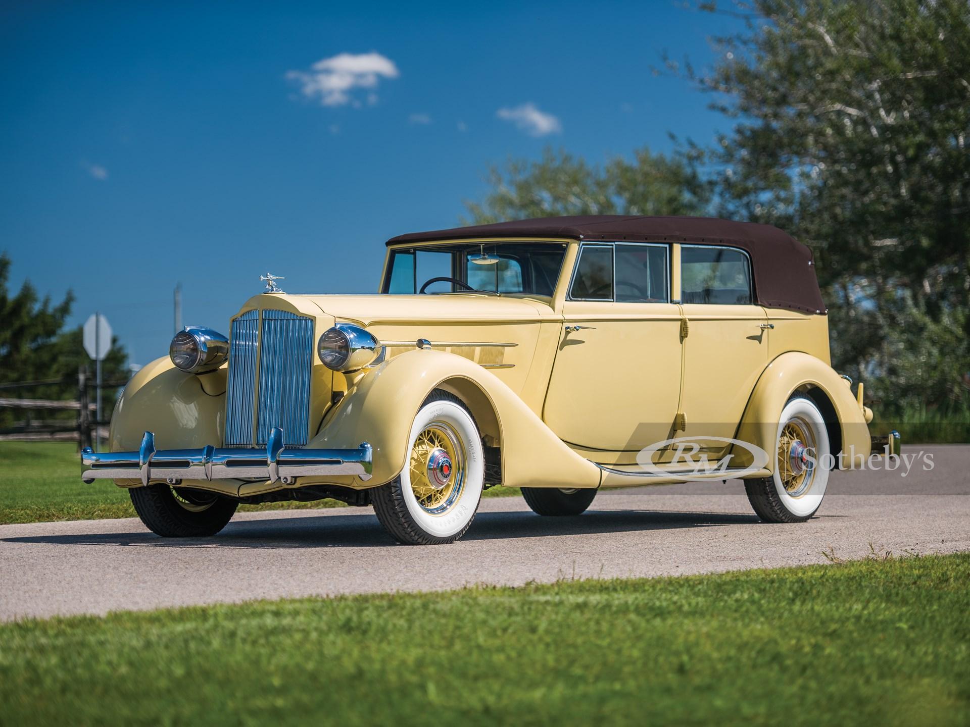 1935 Packard Eight Convertible Sedan