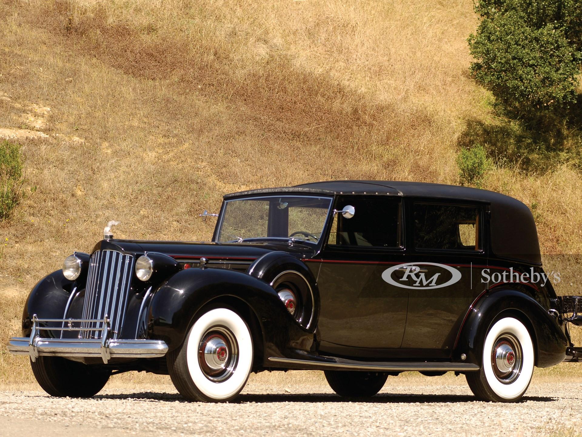 1939 Packard Twelve All Weather Town Car
