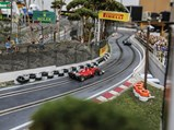 Formula 1 Slot Car Racetrack - $