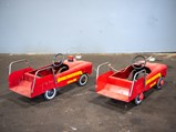Fire Truck Pedal Cars - $
