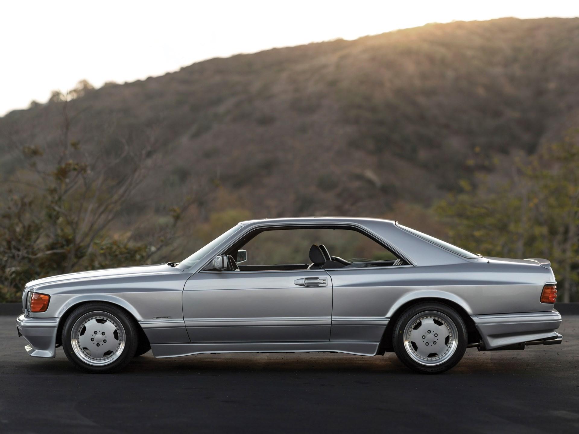 Rm Sothebys 1989 Mercedes Benz 560 Sec 60 Amg Wide Body 1991 500sl Timing Belt
