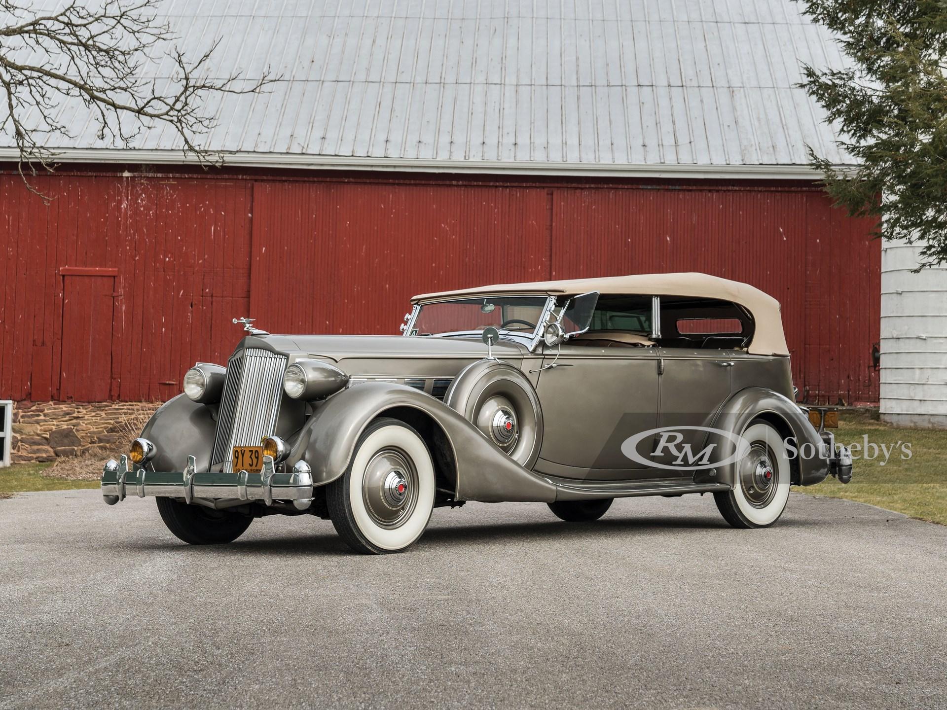 1936 Packard Super Eight Phaeton