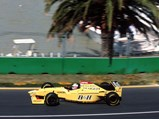 1996 Jordan 196 Formula 1  - $Martin Brundle behind the wheel of the Jordan at the 1996 Australian Grand Prix