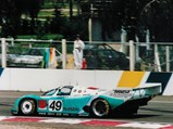 1990 Porsche 962 C  - $Chassis number 962-159 at speed during the 1991 24 Hours of Le Mans.