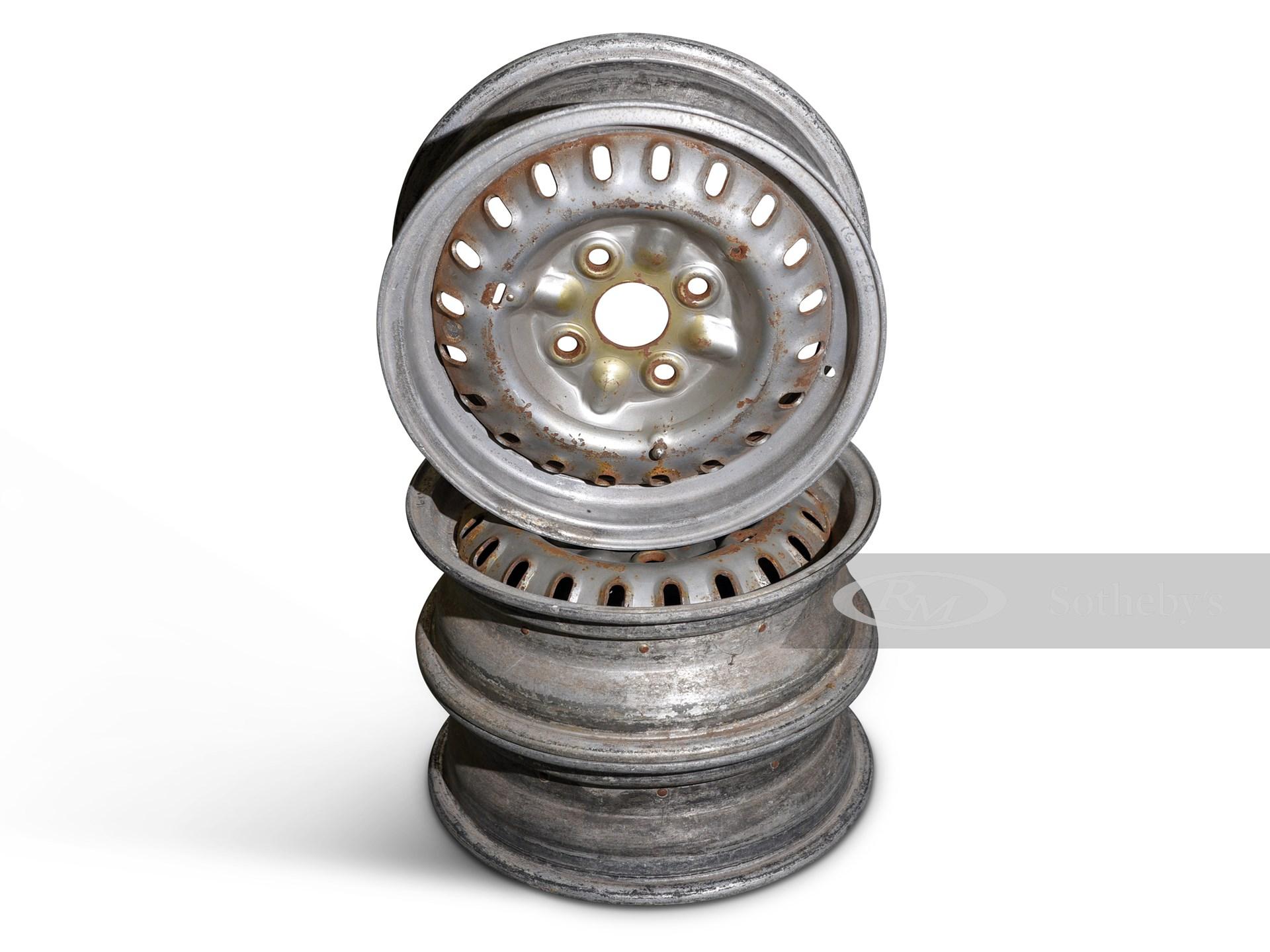 Three Borrani Wheels -