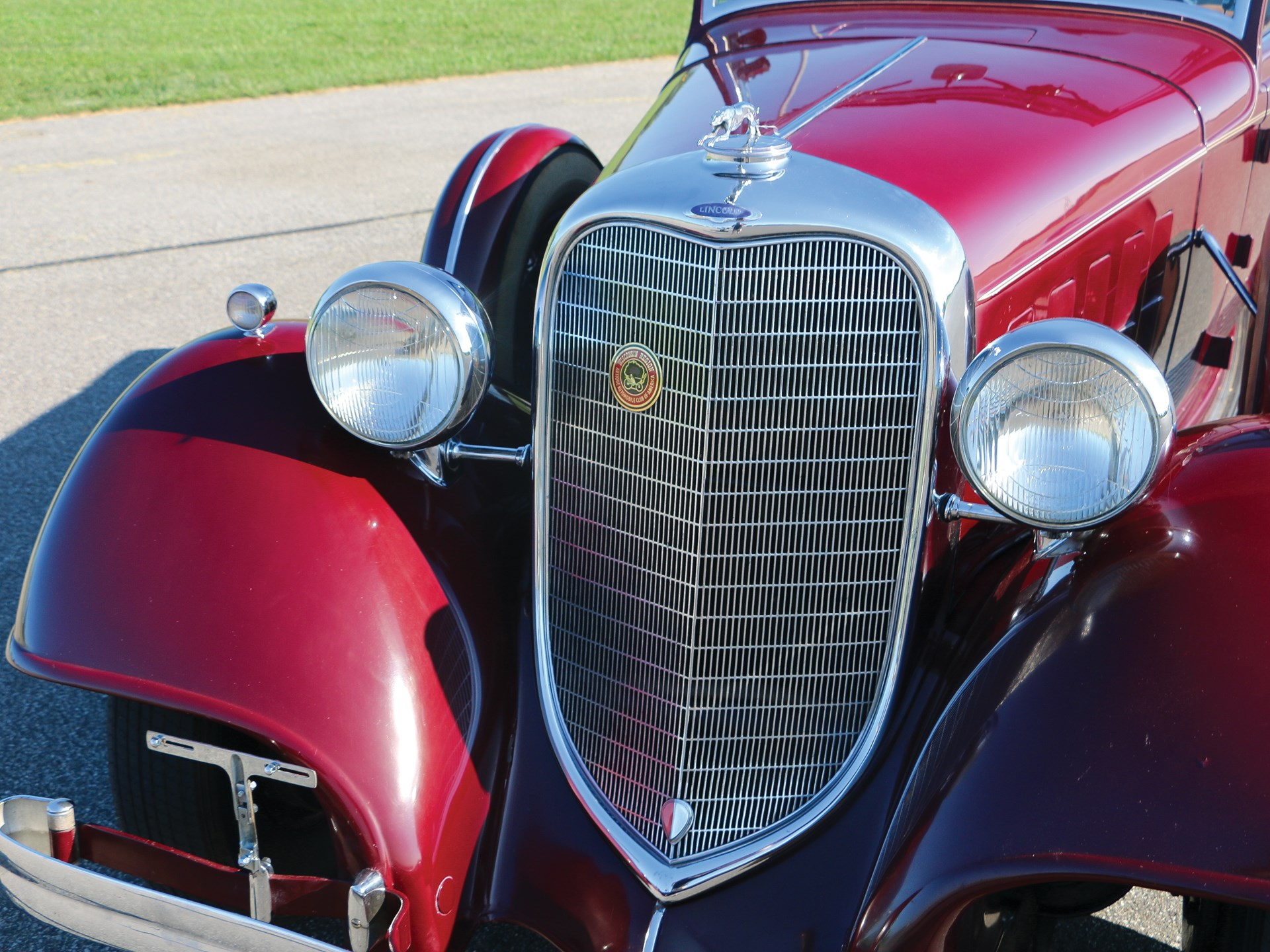 1934 Lincoln Model KB Convertible Roadster by LeBaron