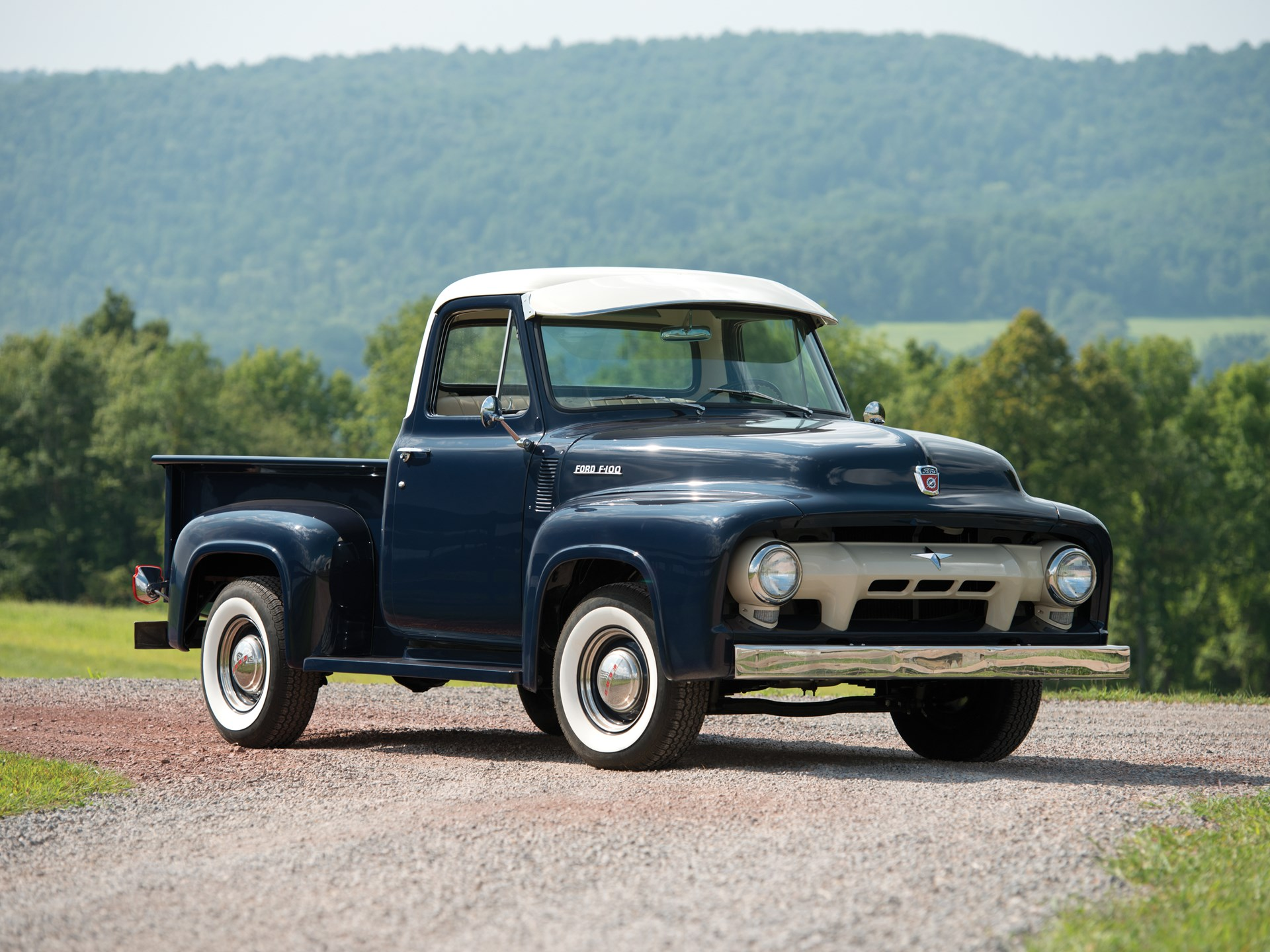 Rm Sothebys 1954 Ford F 100 Pickup Hershey 2014 F100 Long Bed