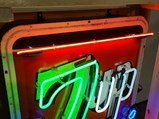 7UP Neon Tin Sign - $