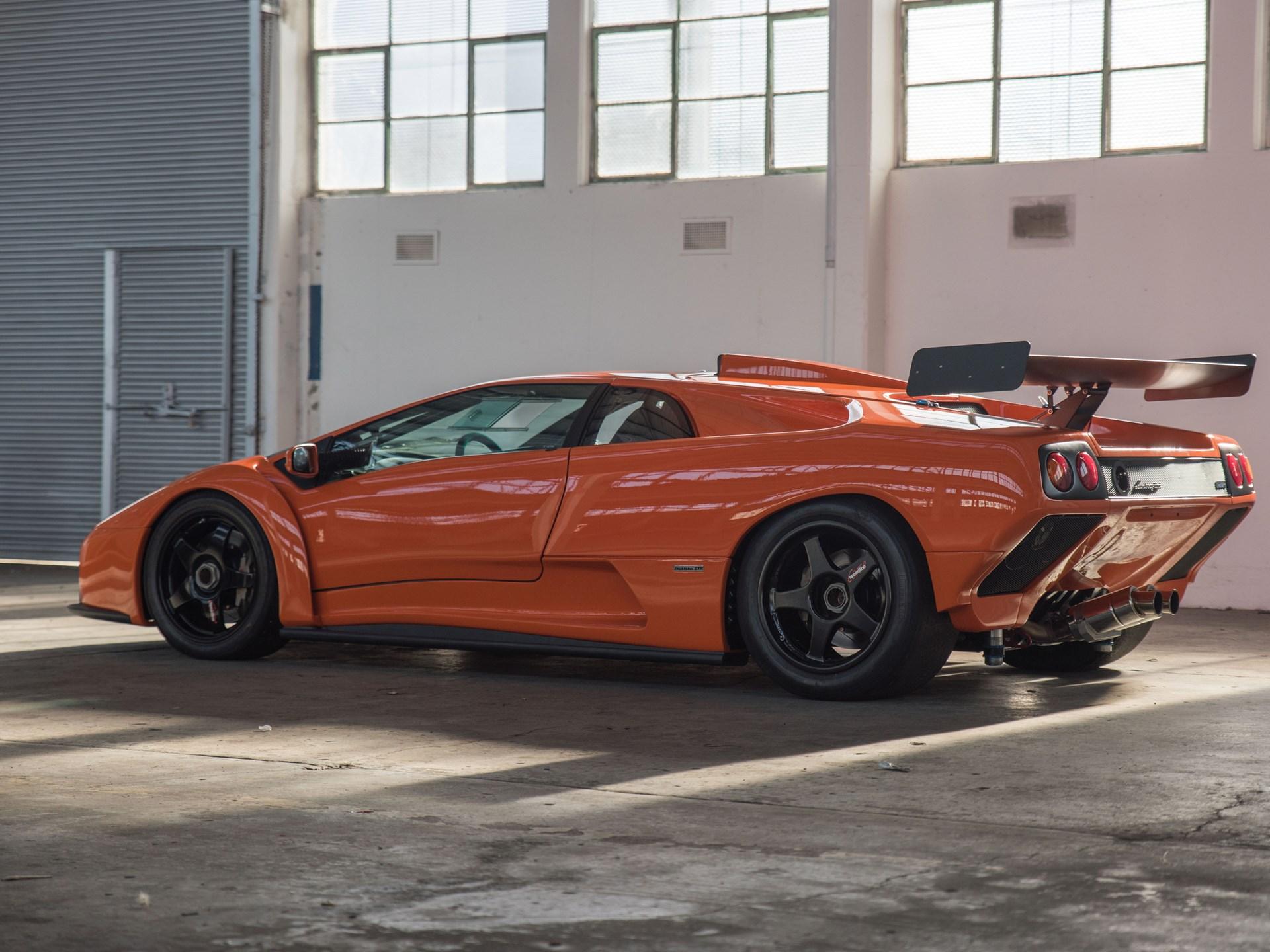 Superb 2000 Lamborghini Diablo GTR