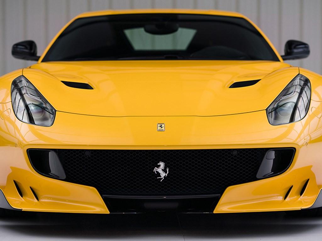 2016 Ferrari F12tdf 120th Anniversary offered at RM Sothebys Paris Live Auction 2021
