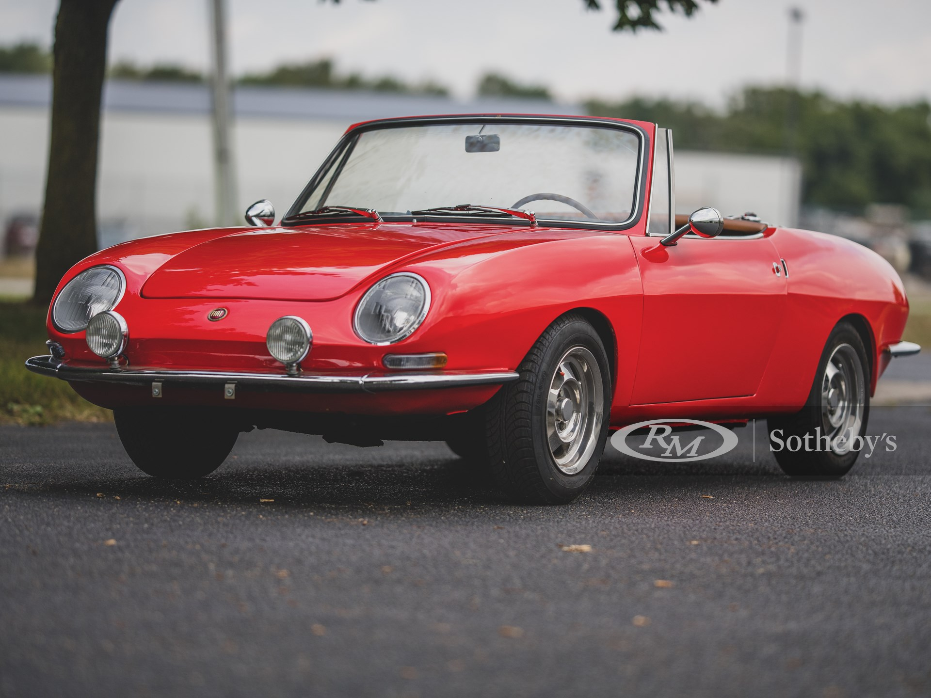 1966 Fiat 850 Spider By Bertone The Elkhart Collection Rm