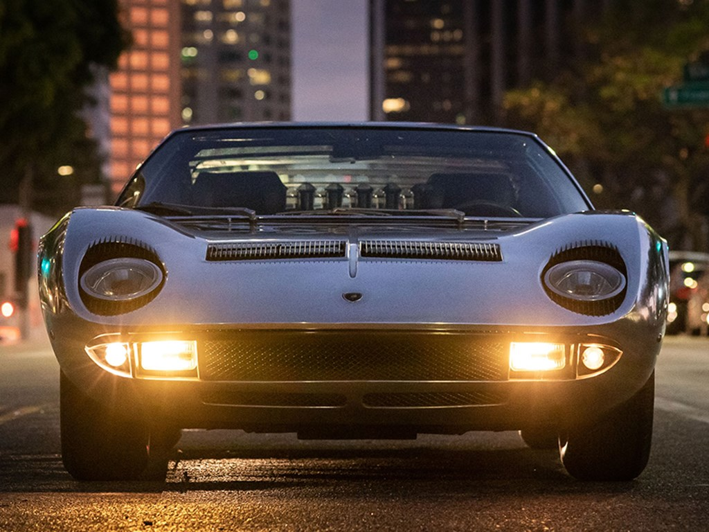 1971 Lamborghini Miura P400 S by Bertone Offered at RM Sothebys Live Monterey Auction 2021