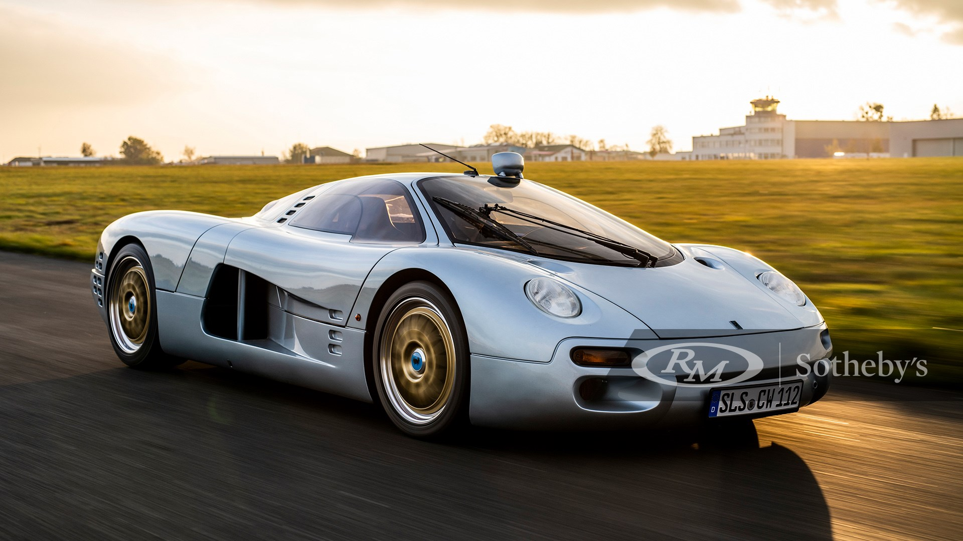 1993 Isdera Commendatore 112i available at RM Sotheby's Paris Auction 2021