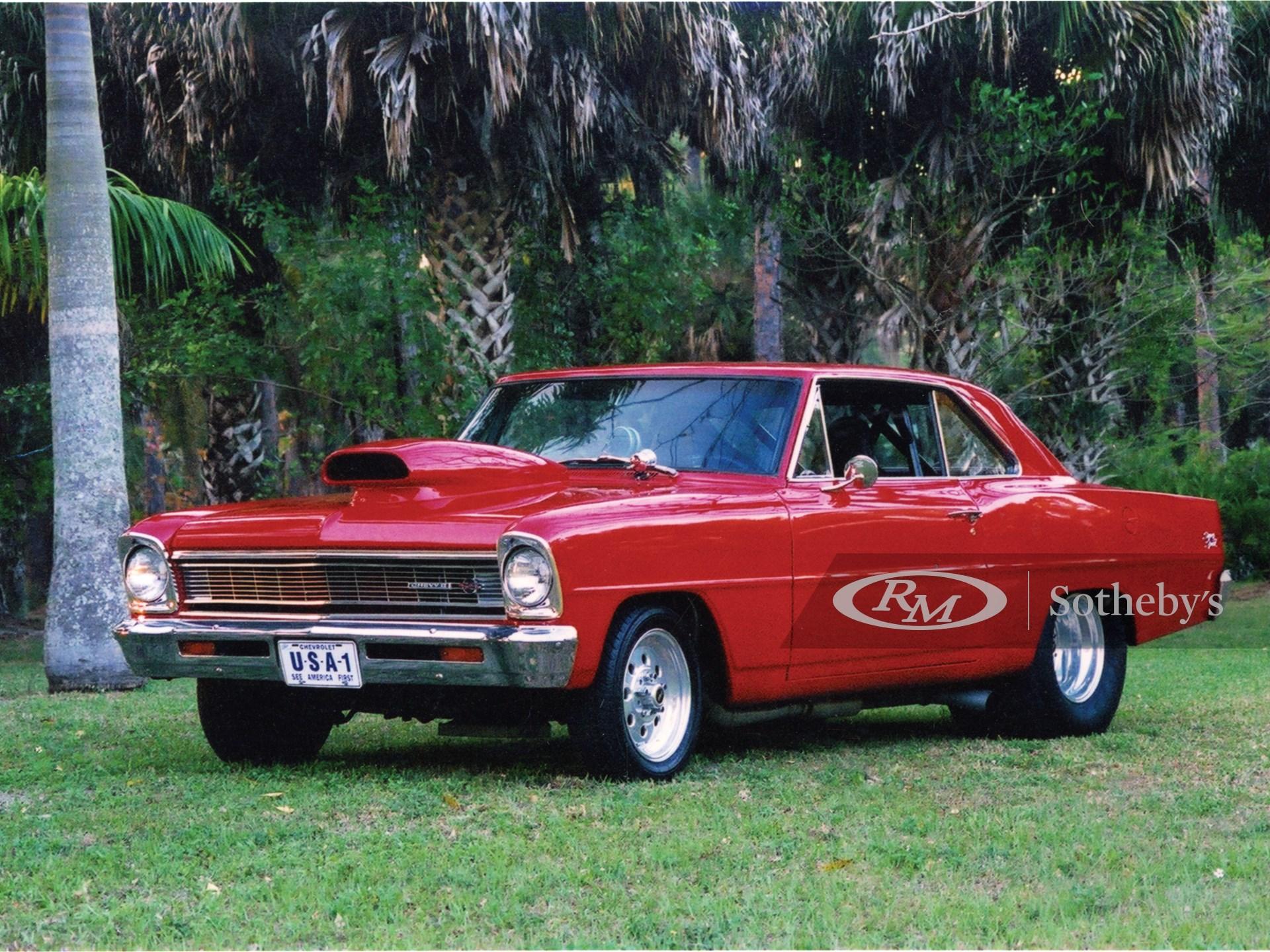 1966 Chevrolet Nova SS Pro Street 2D  -