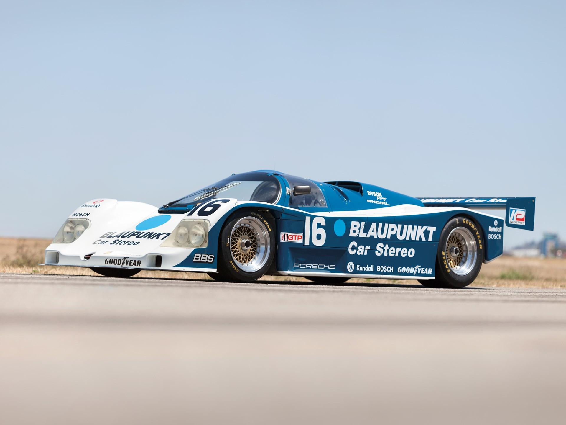 RM Sotheby's - 1987 Porsche 962 IMSA Camel GT Racing Car | Monterey 2012