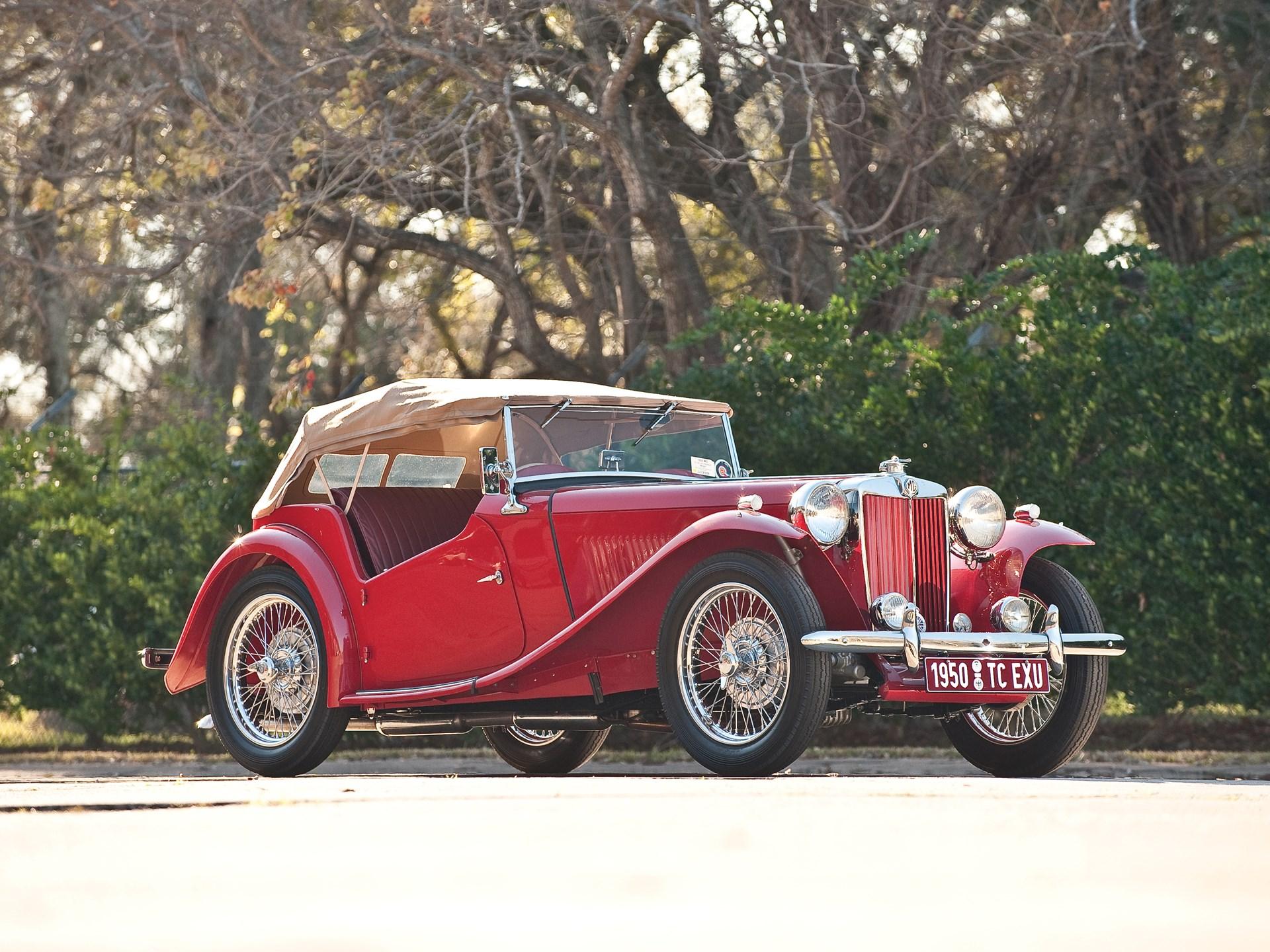 "1950 MG TC SC ""EXU"" Midget Roadster"