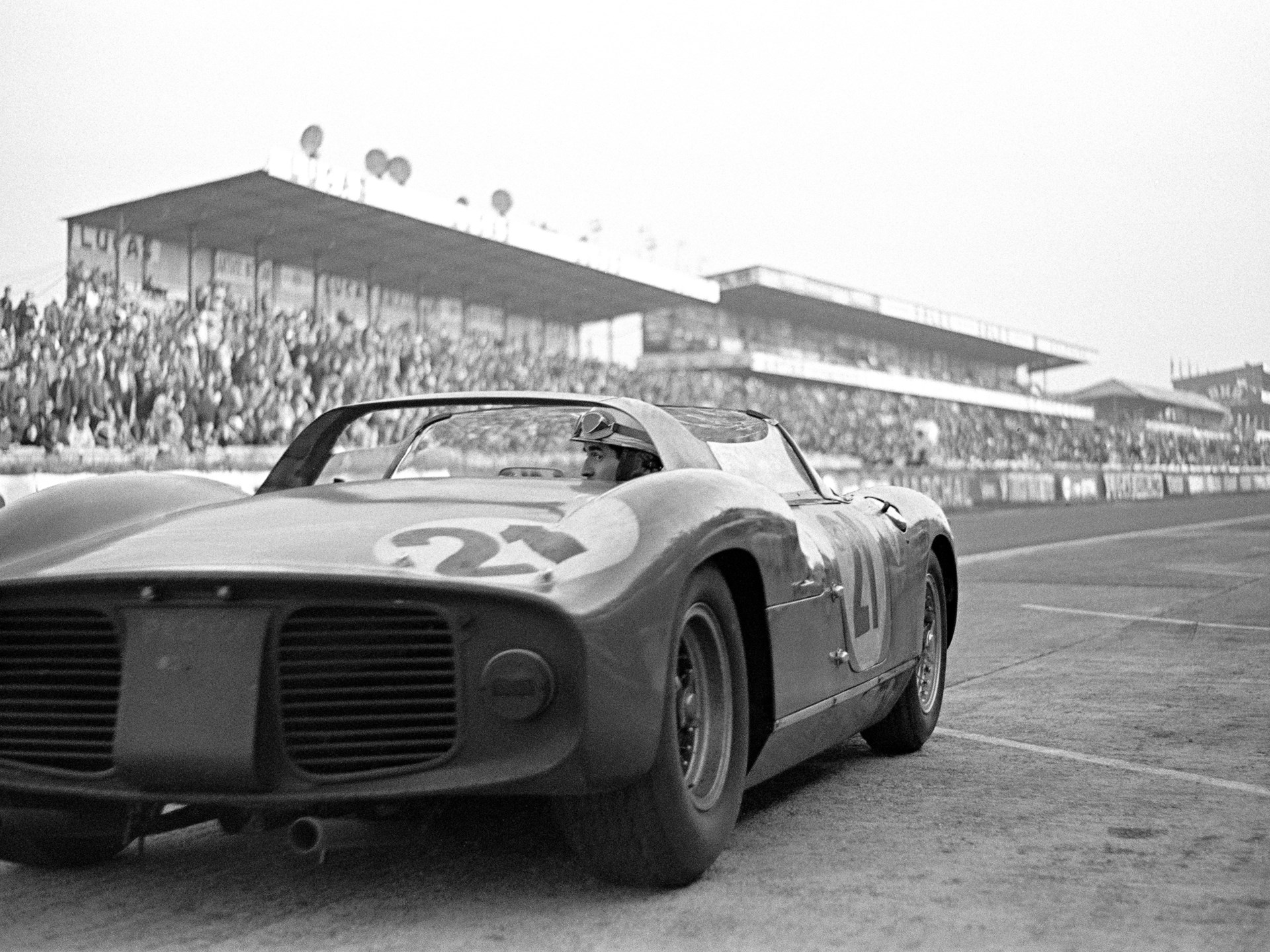24 Hours of Le Mans, #21, Ludovico Scarfiotti/Lorenzo Bandini, 1st Overall.
