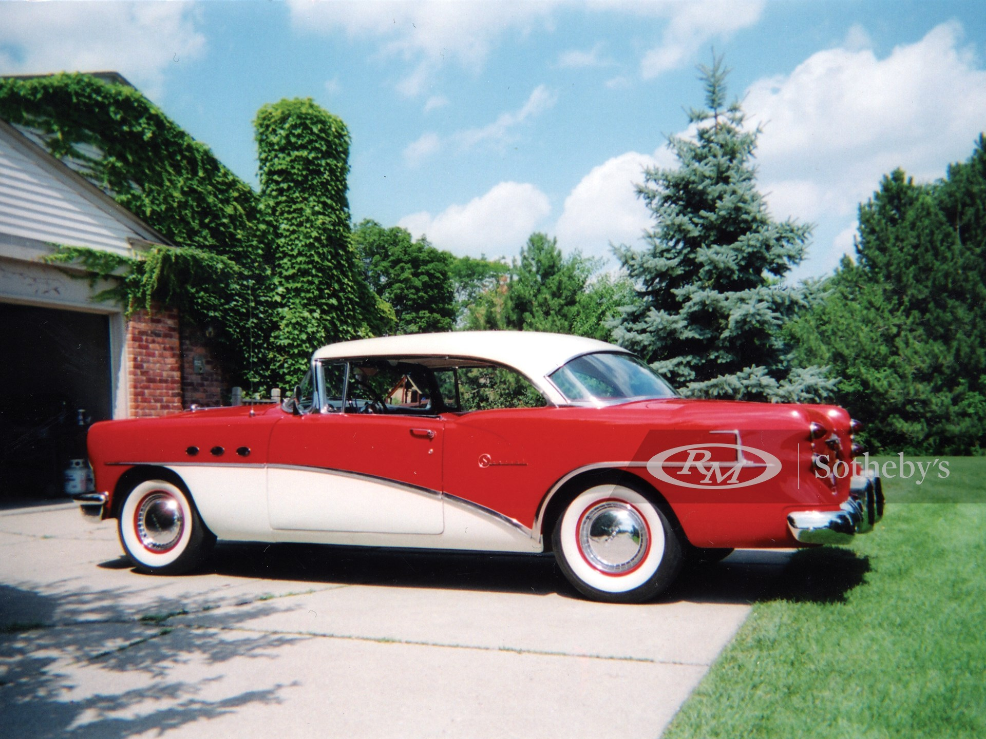1954 Buick Special Riviera 2D