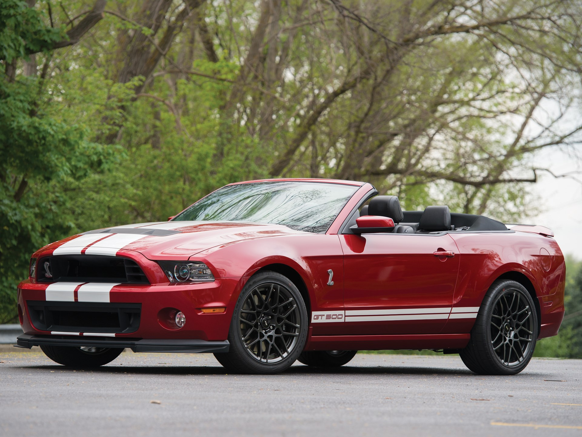 Rm Sothebys 2013 Ford Shelby Gt500 Convertible Motor City 2015 Gt 500