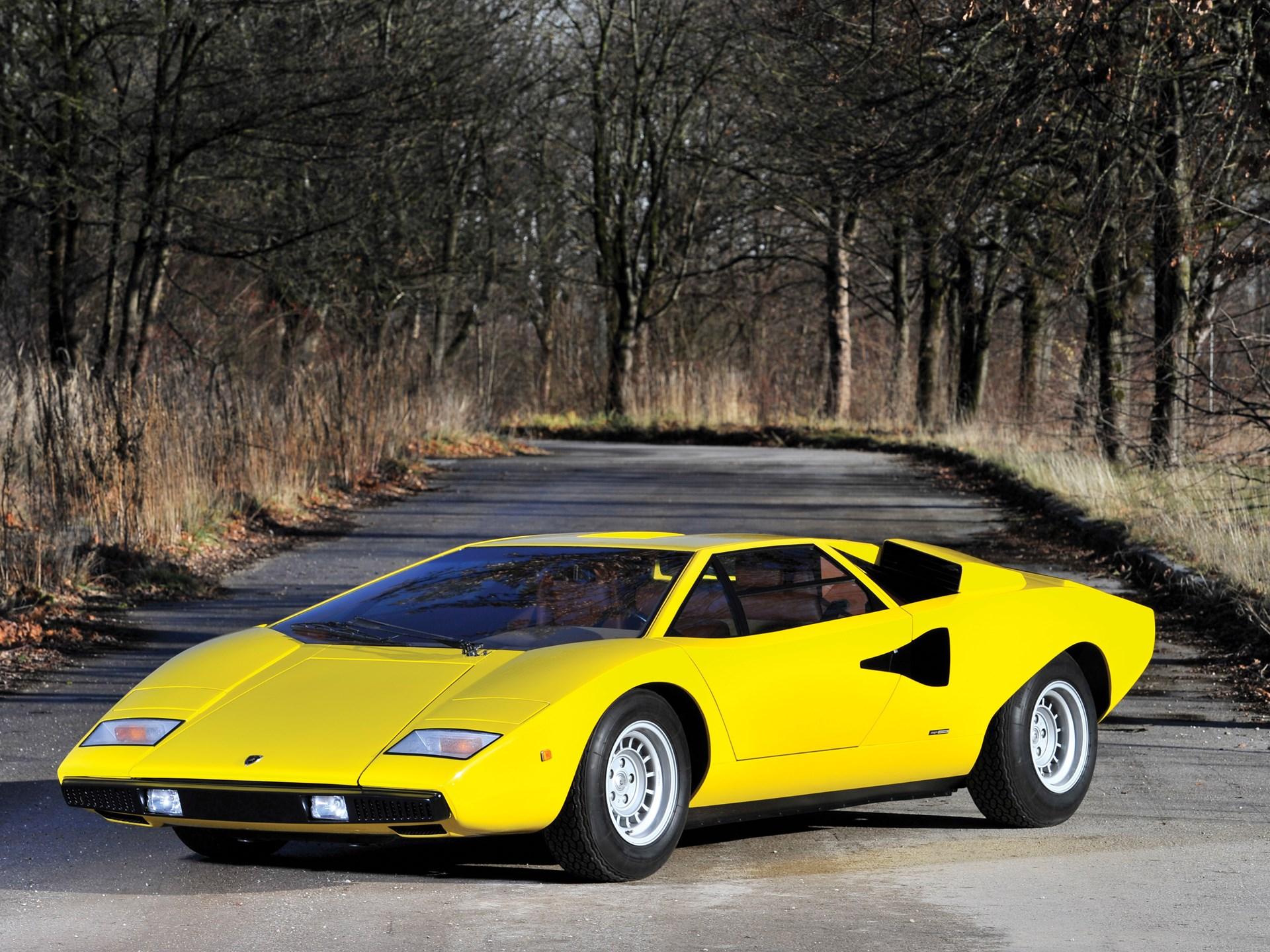 RM Sotheby\'s - 1975 Lamborghini Countach LP400 \'Periscopio\' by ...