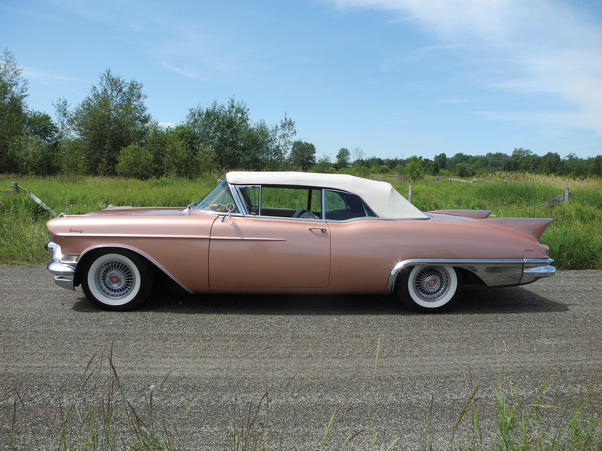 Rm Sothebys 1957 Cadillac Eldorado Biarritz Convertible Auburn 57