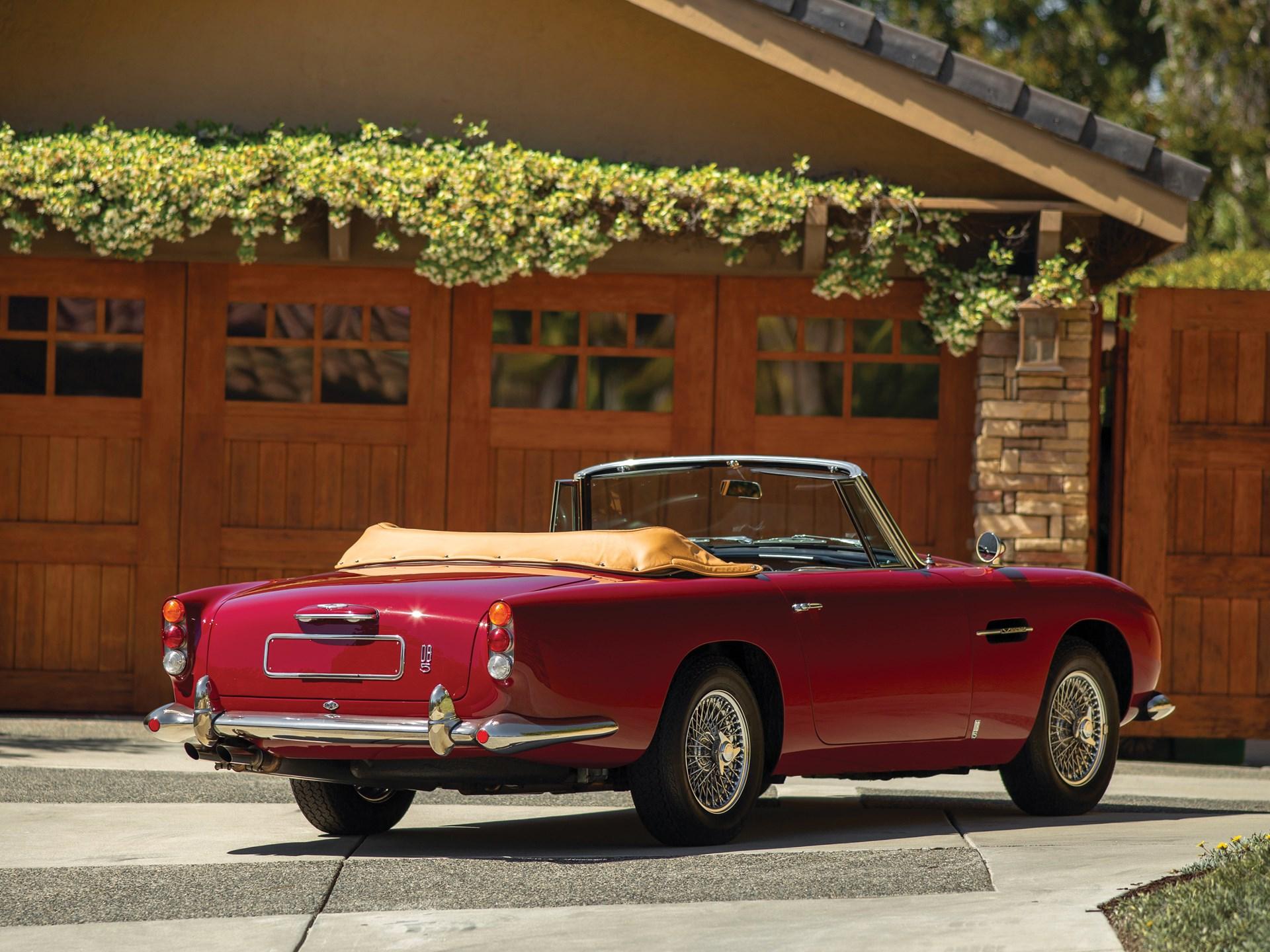 1965 Aston Martin DB5 Vantage Convertible