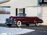 1947 Cadillac Series 62 Convertible Coupe  - $