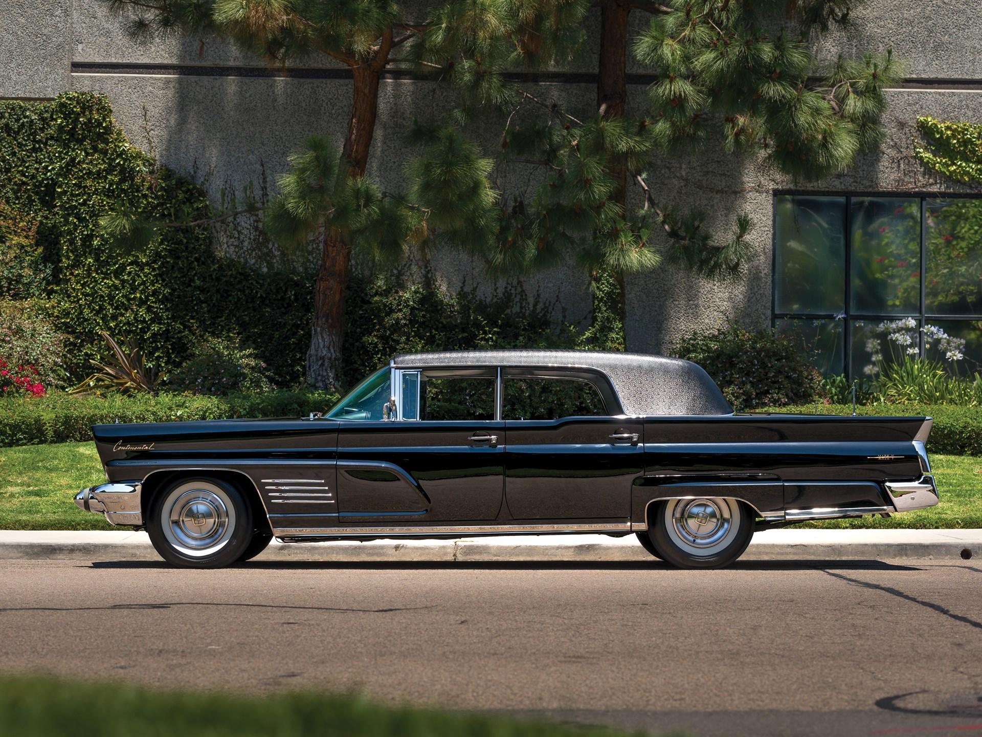rm sotheby 39 s 1960 lincoln continental mark v limousine. Black Bedroom Furniture Sets. Home Design Ideas