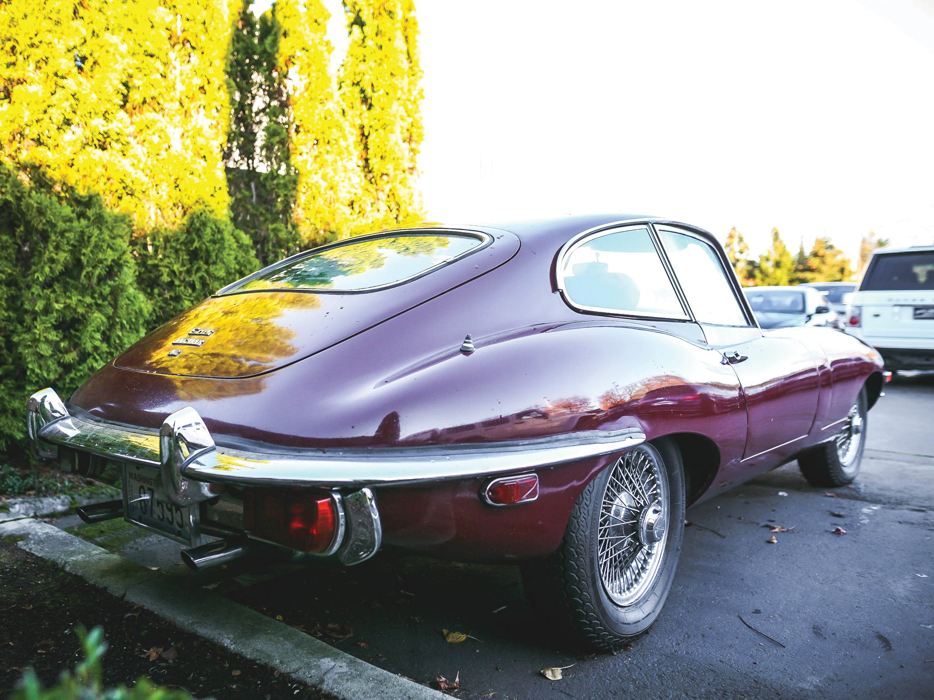 1970 Jaguar E-Type Series 2 4.2-Litre Fixed Head Coupe