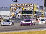 1989 Jaguar XJR-11  - $The XJR-11 of Jan Lammers and Andy Wallace holds it own against the highly successful Mercedes-Benz C11.