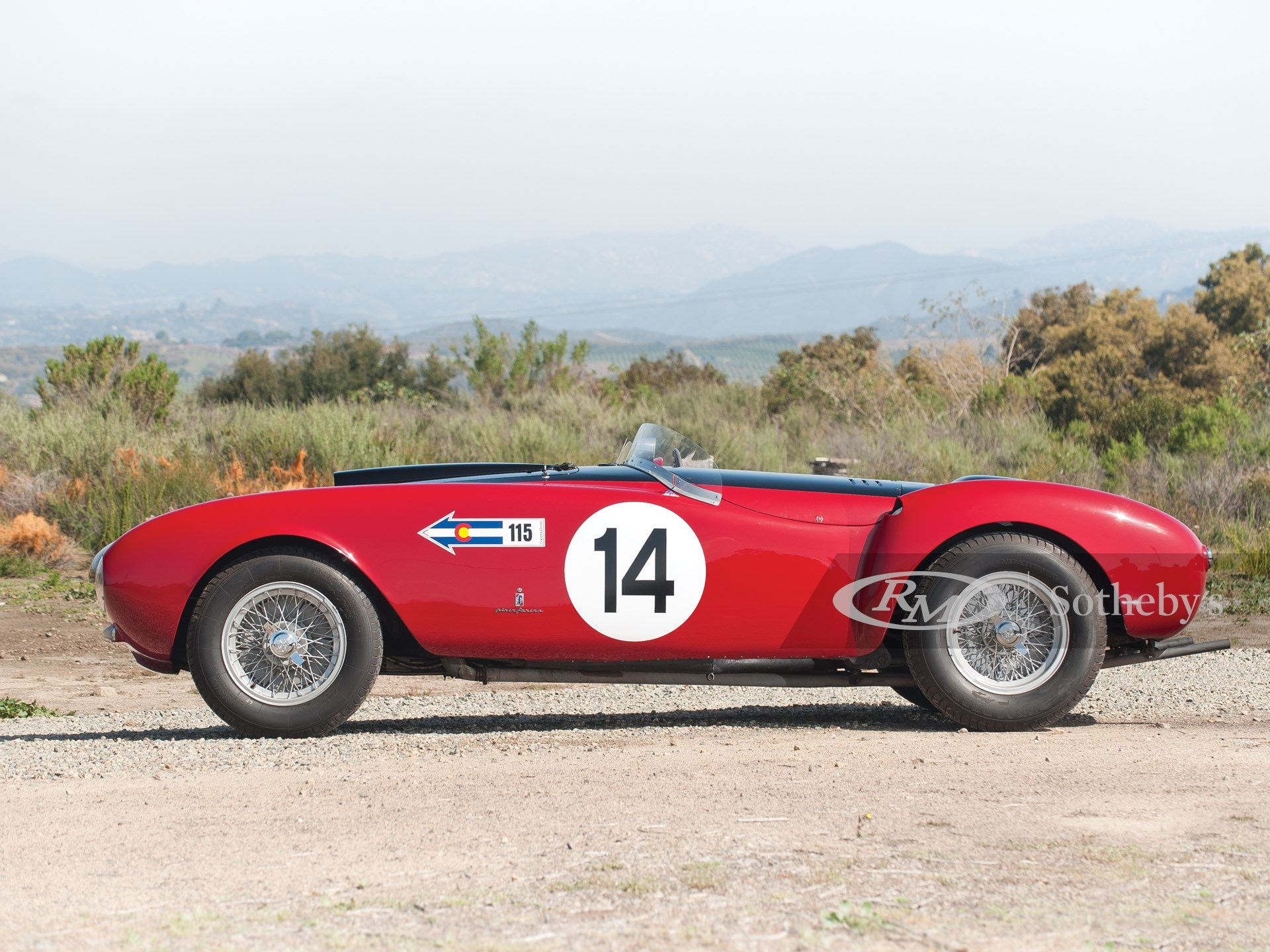1953 Ferrari 375 MM Spider by Pinin Farina -