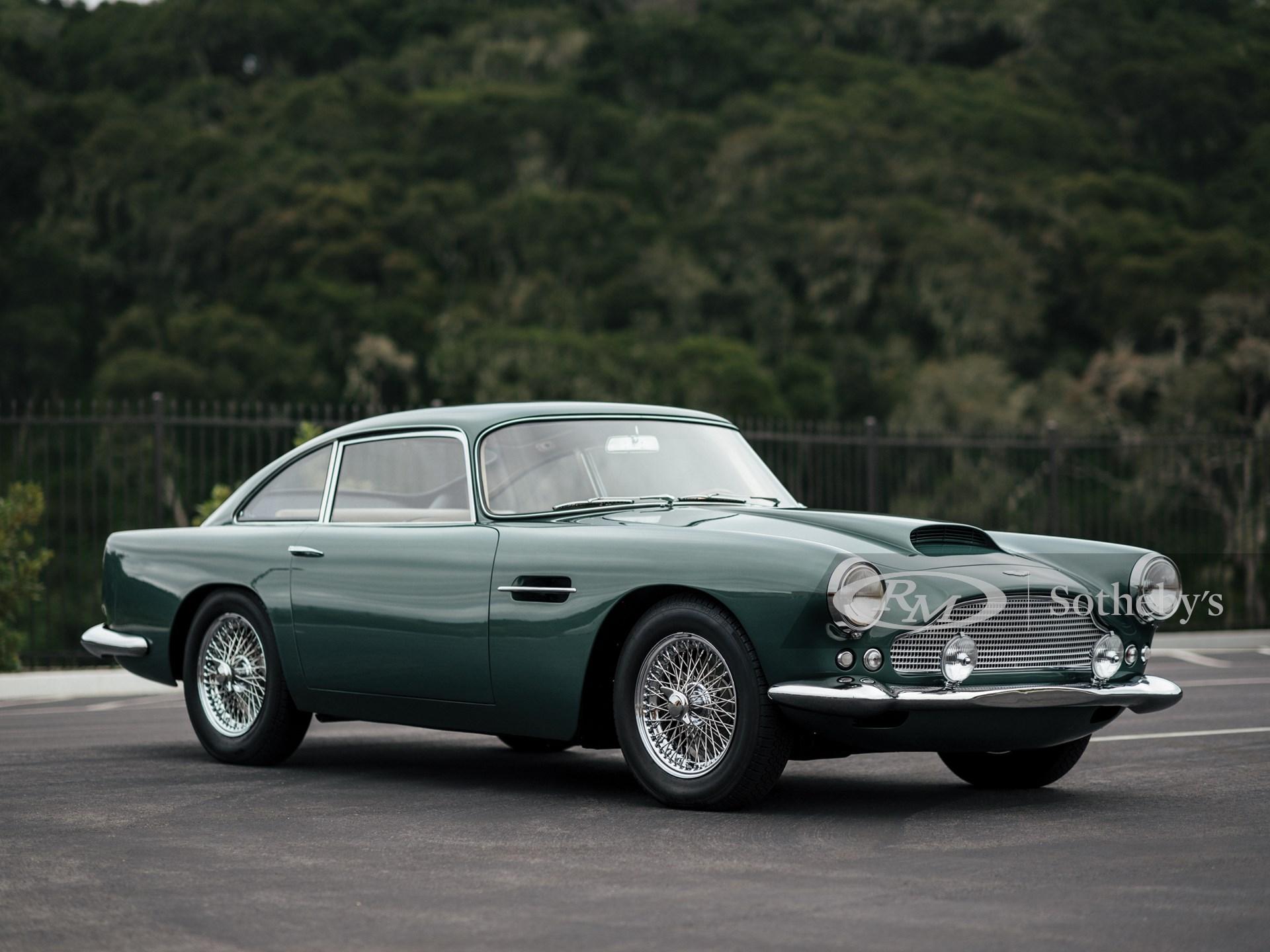 1961 Aston Martin Db4 Series Ii Monterey 2019 Rm Sotheby S