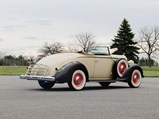 1936 Packard One-Twenty Convertible Coupe  - $