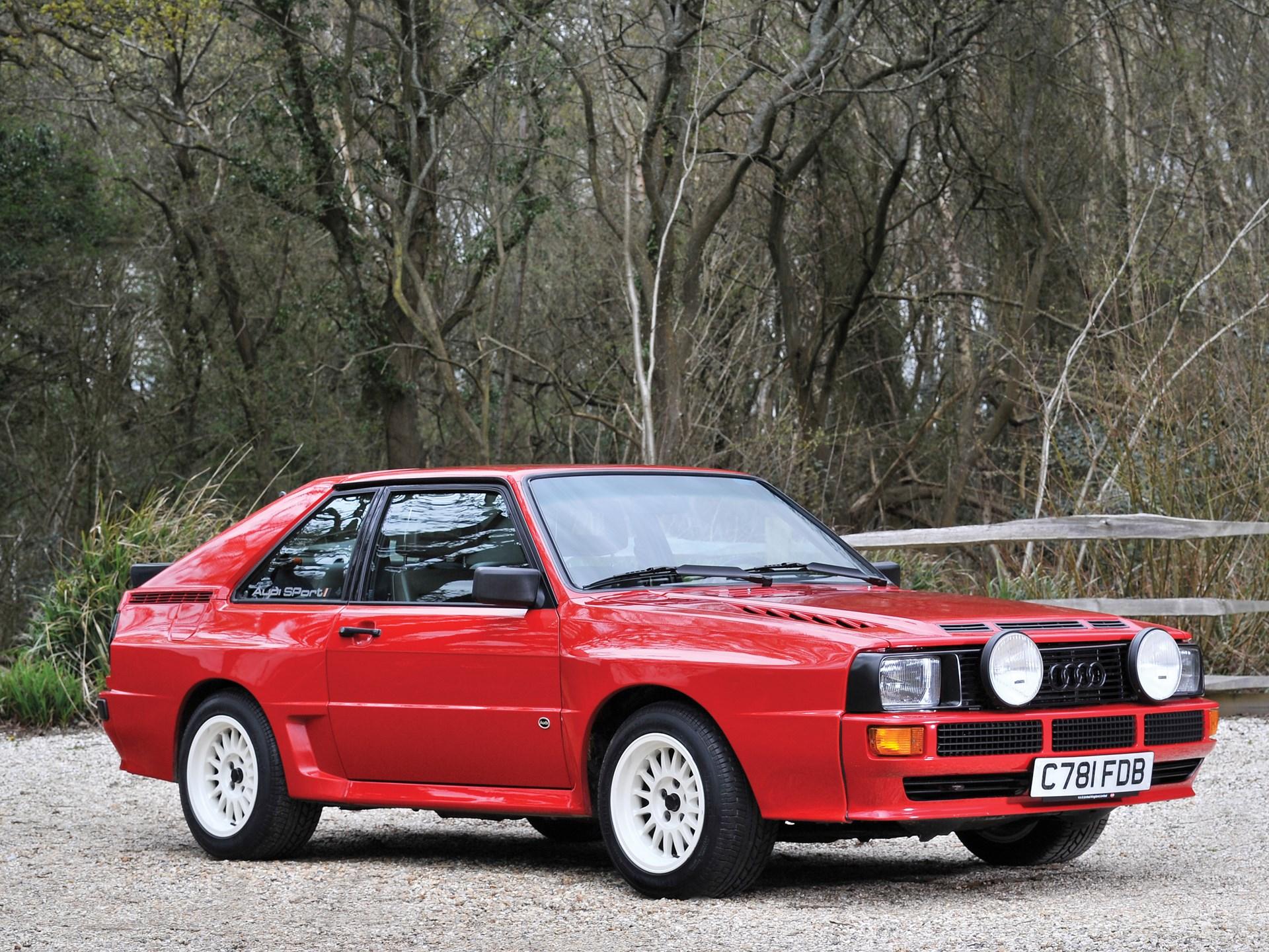 RM Sothebys Audi Sport Quattro London - Audi quattro