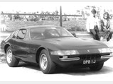 1970 Ferrari 365 GTB/4 Daytona Berlinetta by Scaglietti - $Chassis number 13435 as seen at Brands Hatch in 1970.