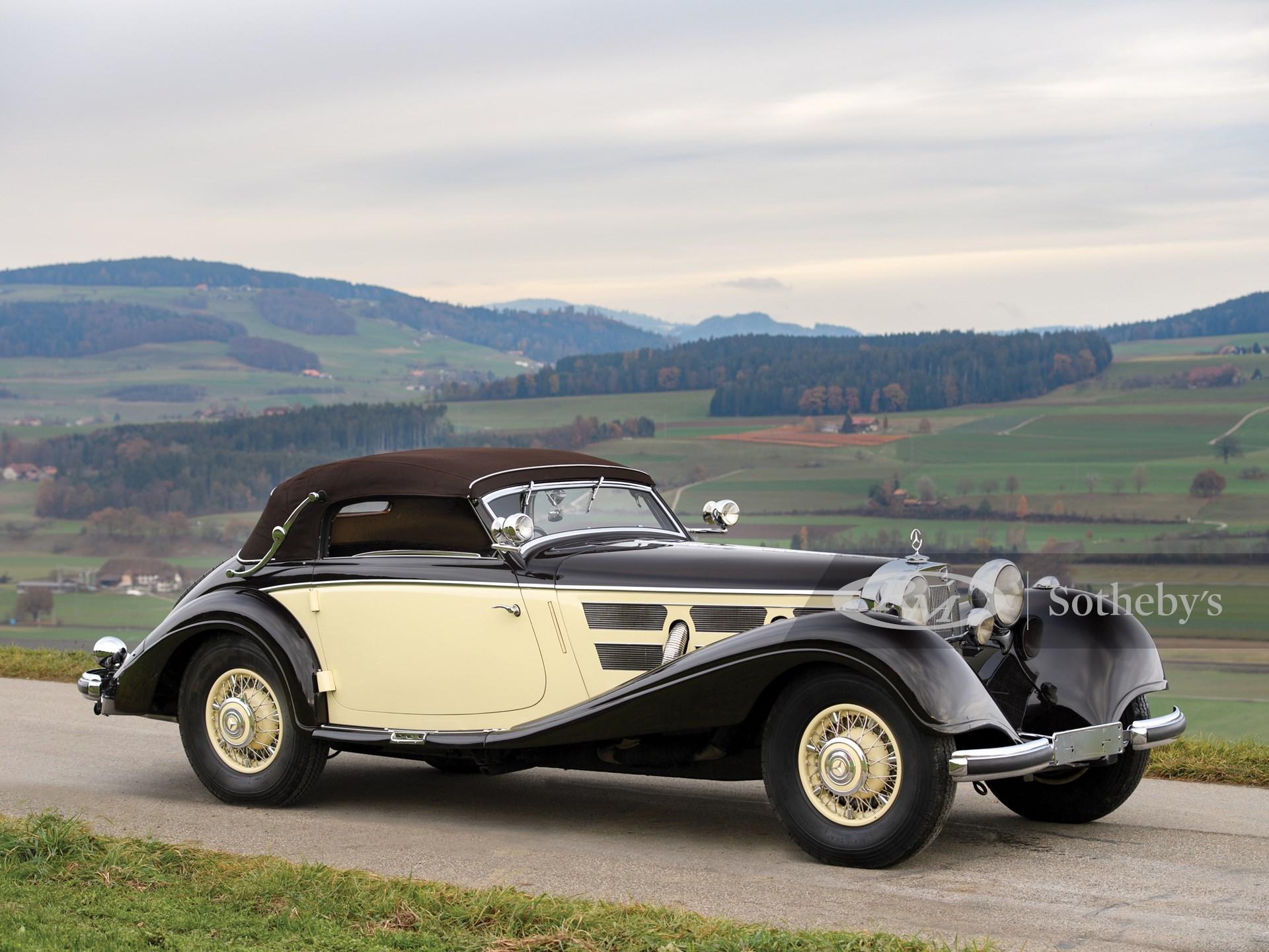 Mercedes 540 K Sportcoupé schwarz 1936-1:87 BOS   *NEW*