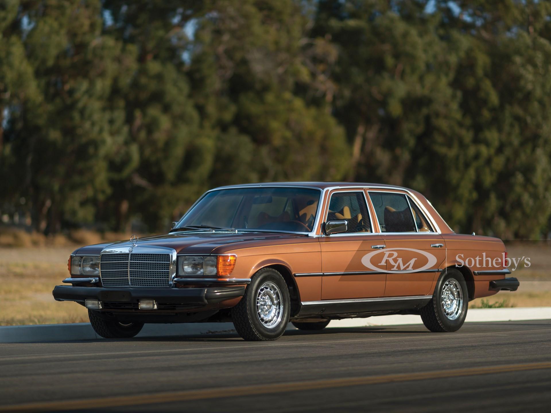 1979 Mercedes Benz 450 Sel 6 9 Arizona 2016 Rm Sotheby S