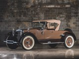 1922 Wills Sainte Claire A-68 Roadster by Budd - $