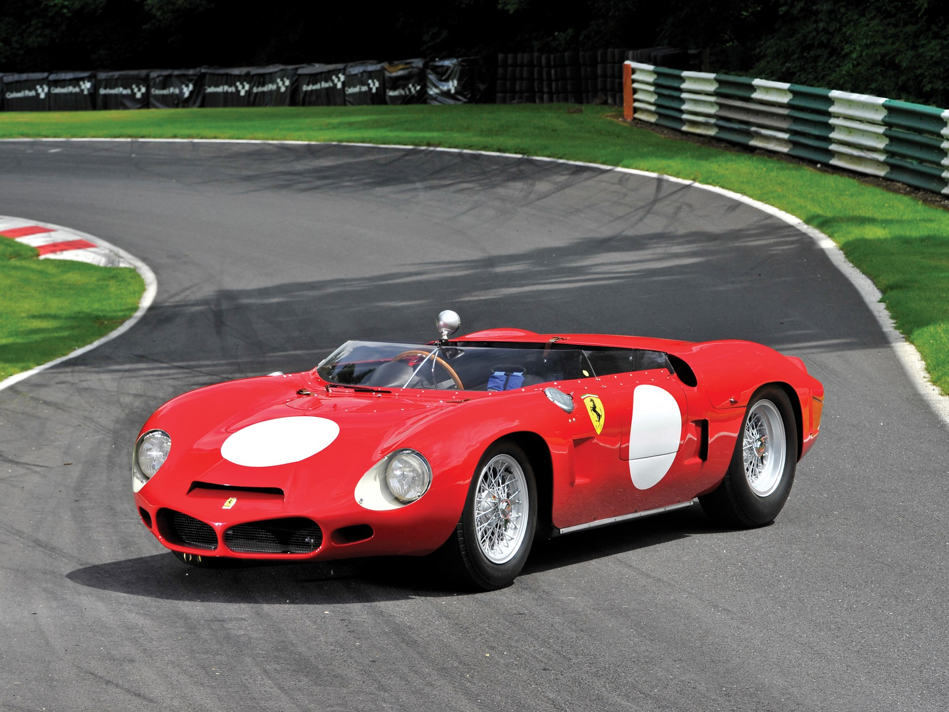 1962 Ferrari 268 SP by Fantuzzi